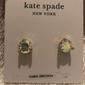 Kate Spade Rise & Shine Small Stud Earrings NWT